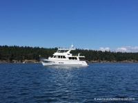Then we anchored off Sucia Island for a night
