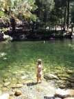 Hot means swimming in the South Fork of the Merced Rvier.