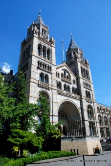 Off to the lovely Natural History museum