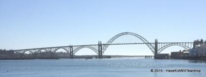 Newport and the Yaquina Bay Bridge