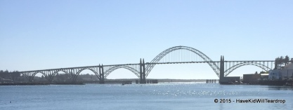 Newport and the Yaquina Bay Bridge