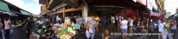 The produce section of the market