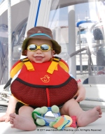 Finn ready for his big boat vacation