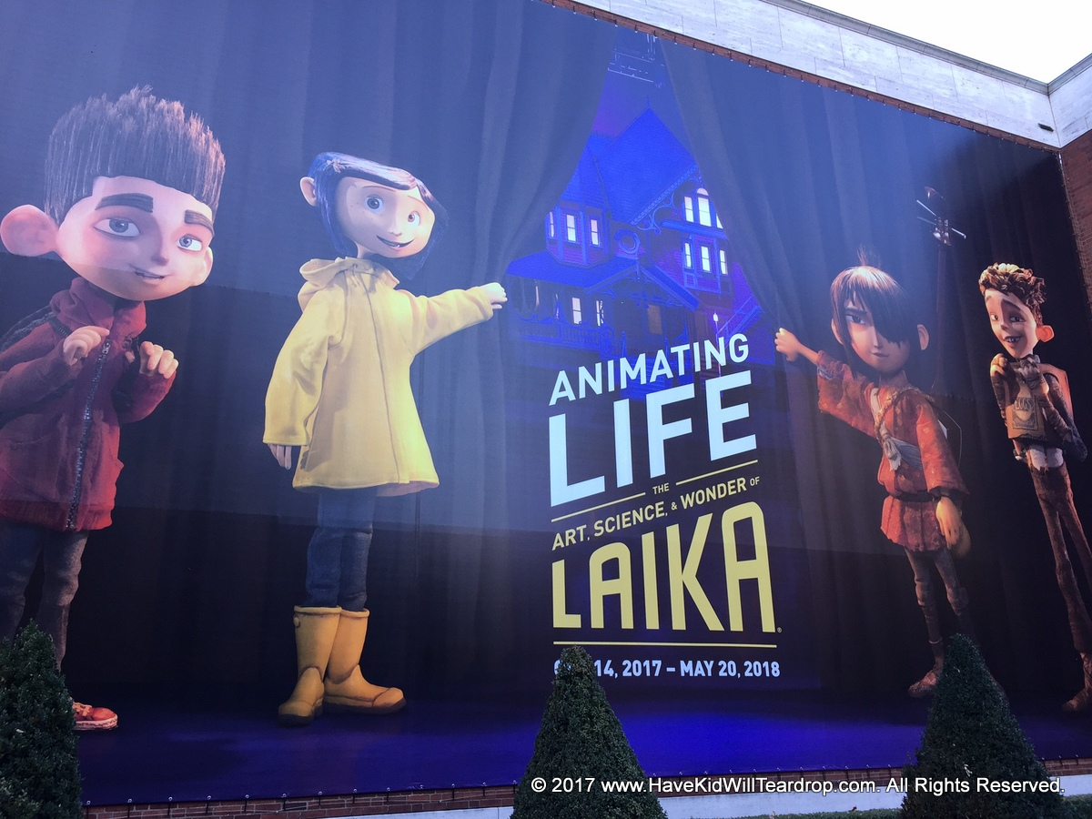 Activity Animating Life The Art Science And Wonder Of Laika Portland Art Museum Have Kid Will Teardrop